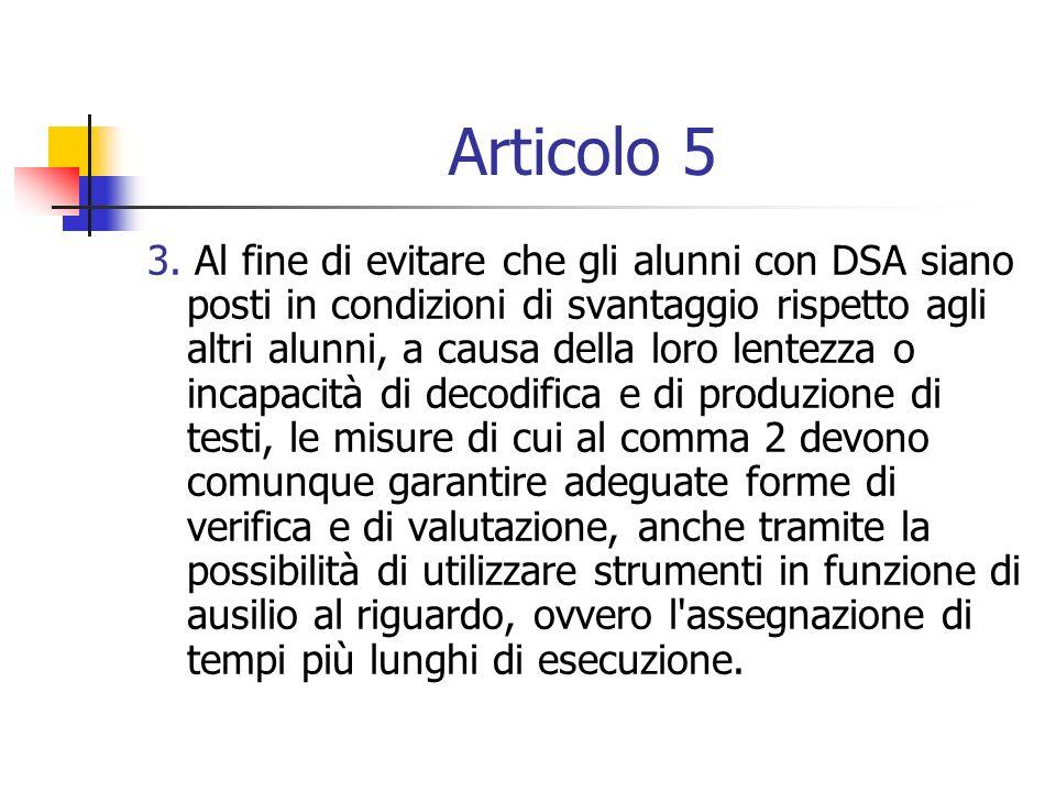 Articolo 5