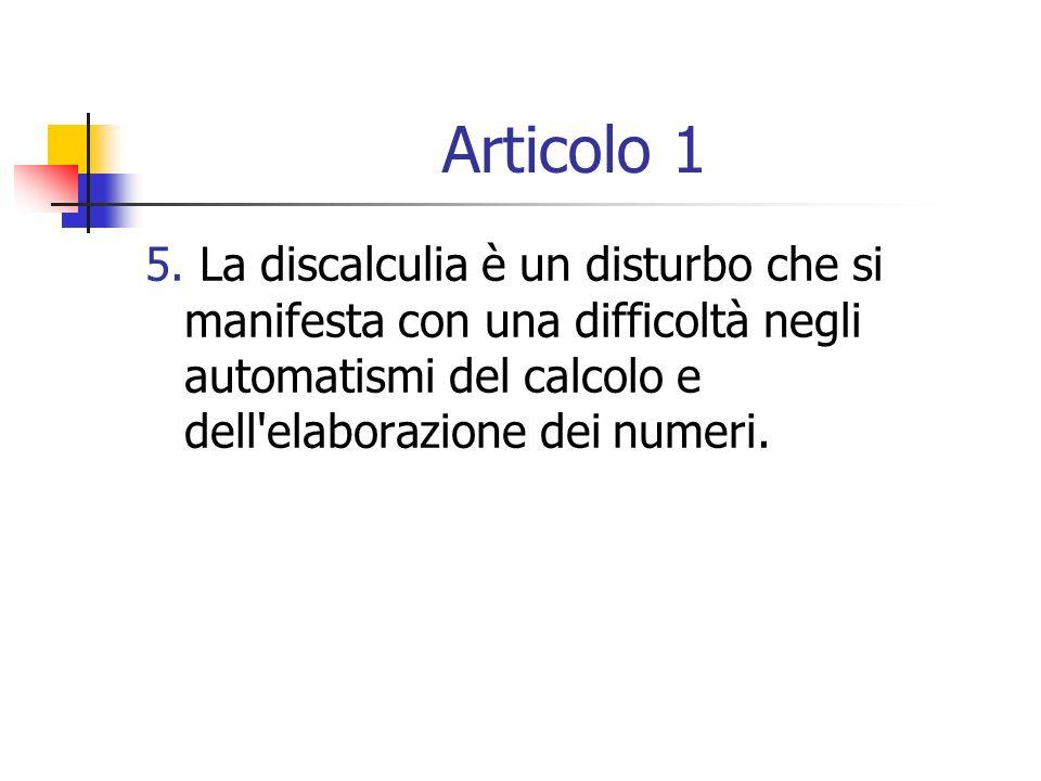 Articolo 1 5.