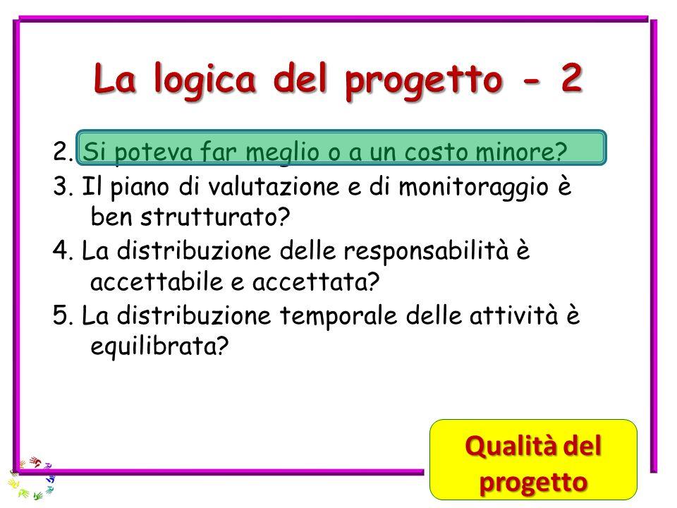 La logica del progetto - 2