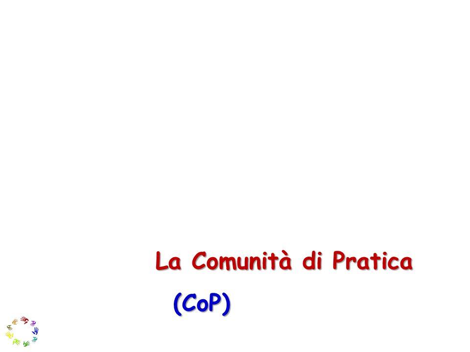 La Comunità di Pratica (CoP)