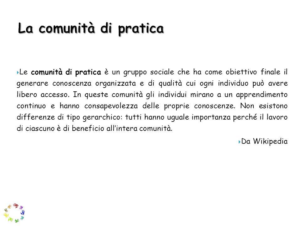 La comunità di pratica