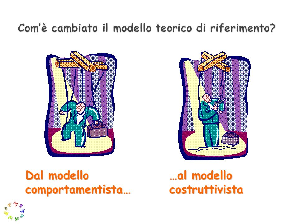 Com'è cambiato il modello teorico di riferimento