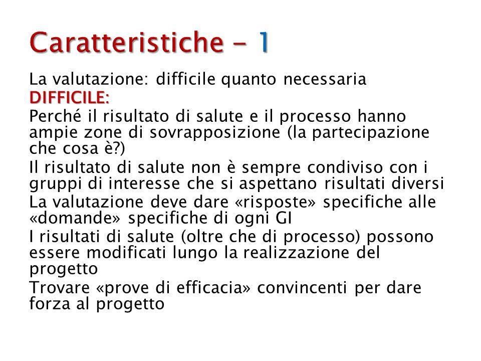 Caratteristiche - 1