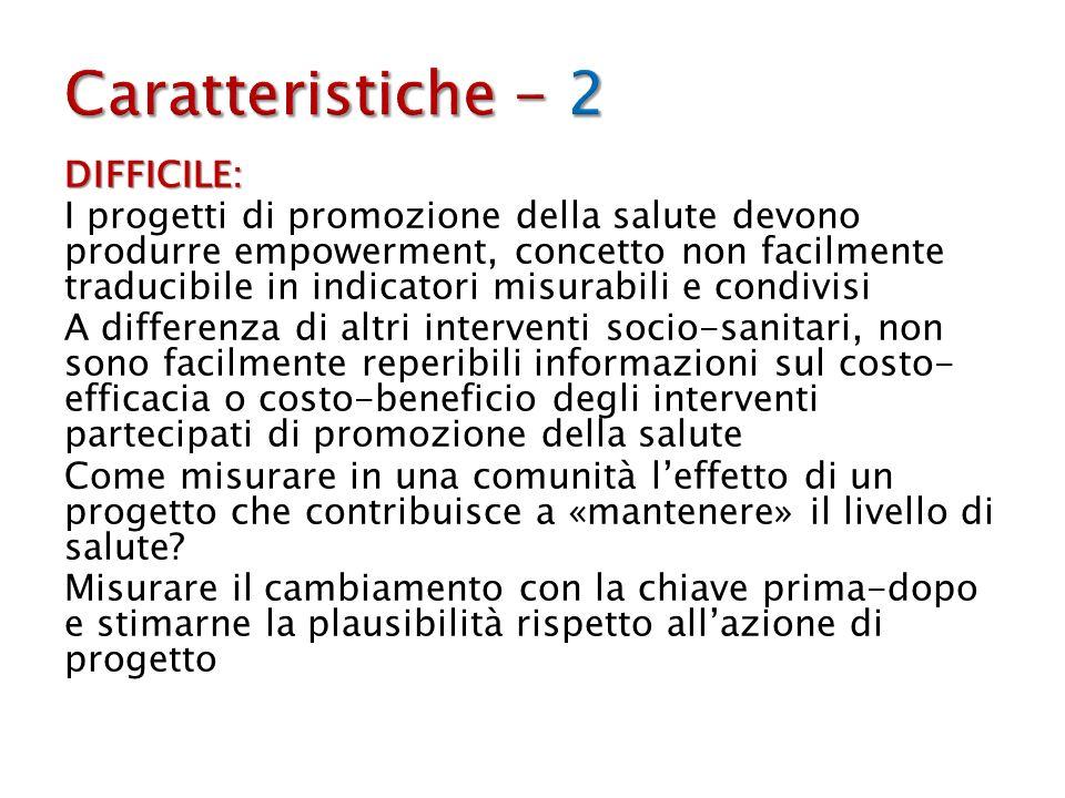 Caratteristiche - 2