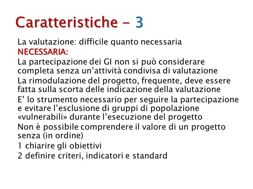 Caratteristiche - 3