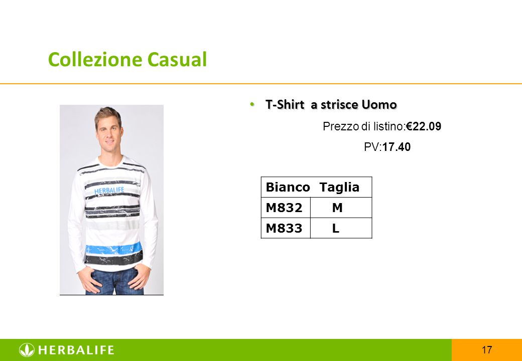Collezione Casual T-Shirt a strisce Uomo Bianco Taglia M832 M M833 L