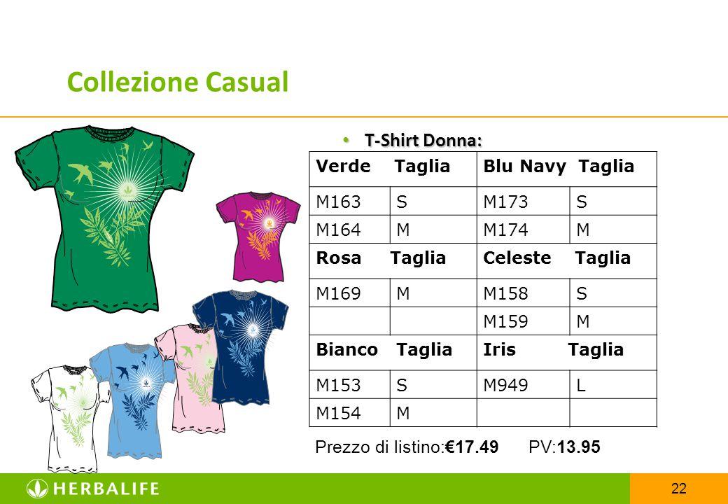 Collezione Casual T-Shirt Donna: Prezzo di listino:€17.49 PV:13.95