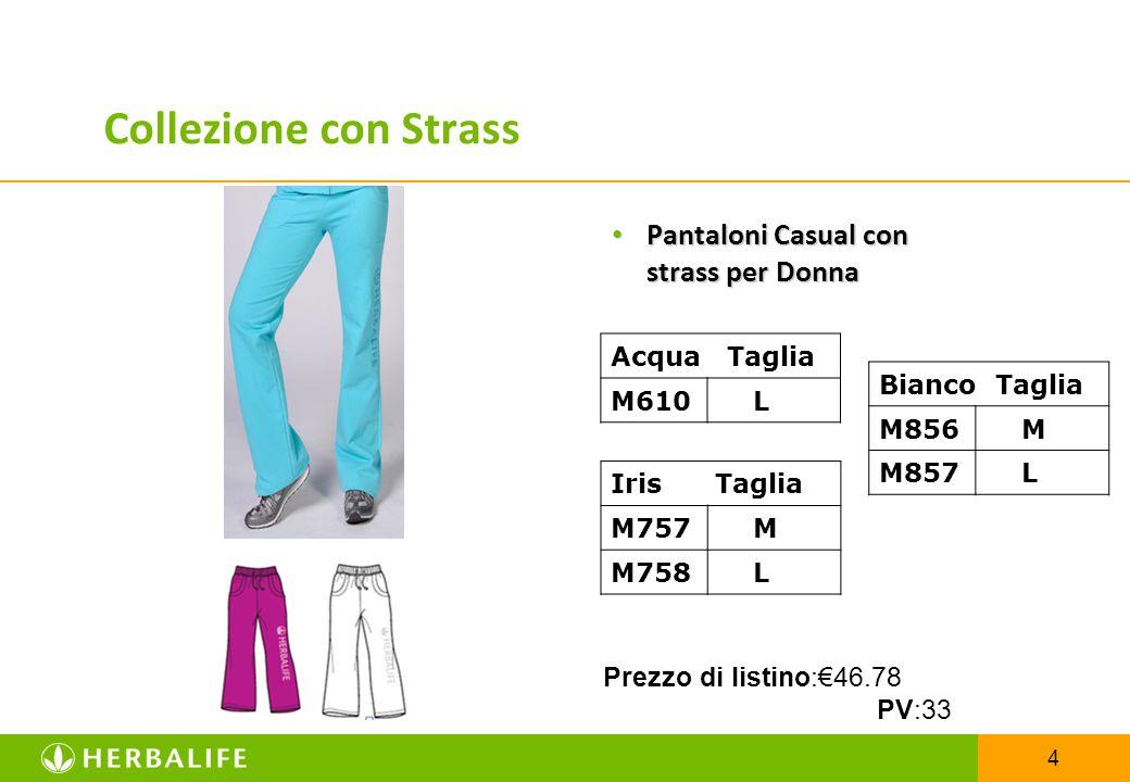 Collezione con Strass Pantaloni Casual con strass per Donna