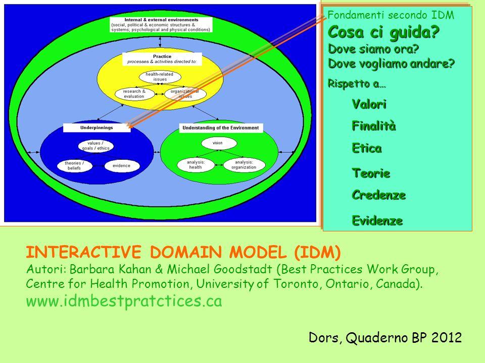 INTERACTIVE DOMAIN MODEL (IDM)