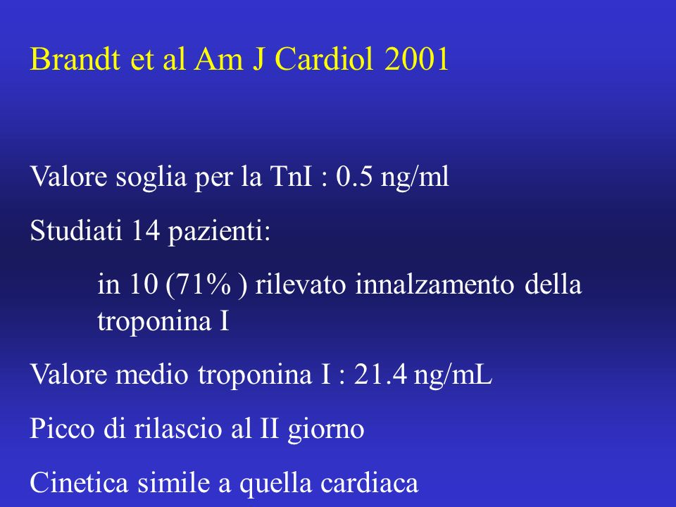 Brandt et al Am J Cardiol 2001