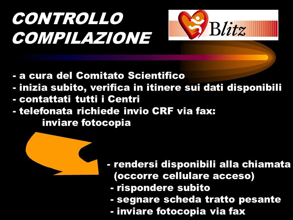 CONTROLLO COMPILAZIONE - a cura del Comitato Scientifico