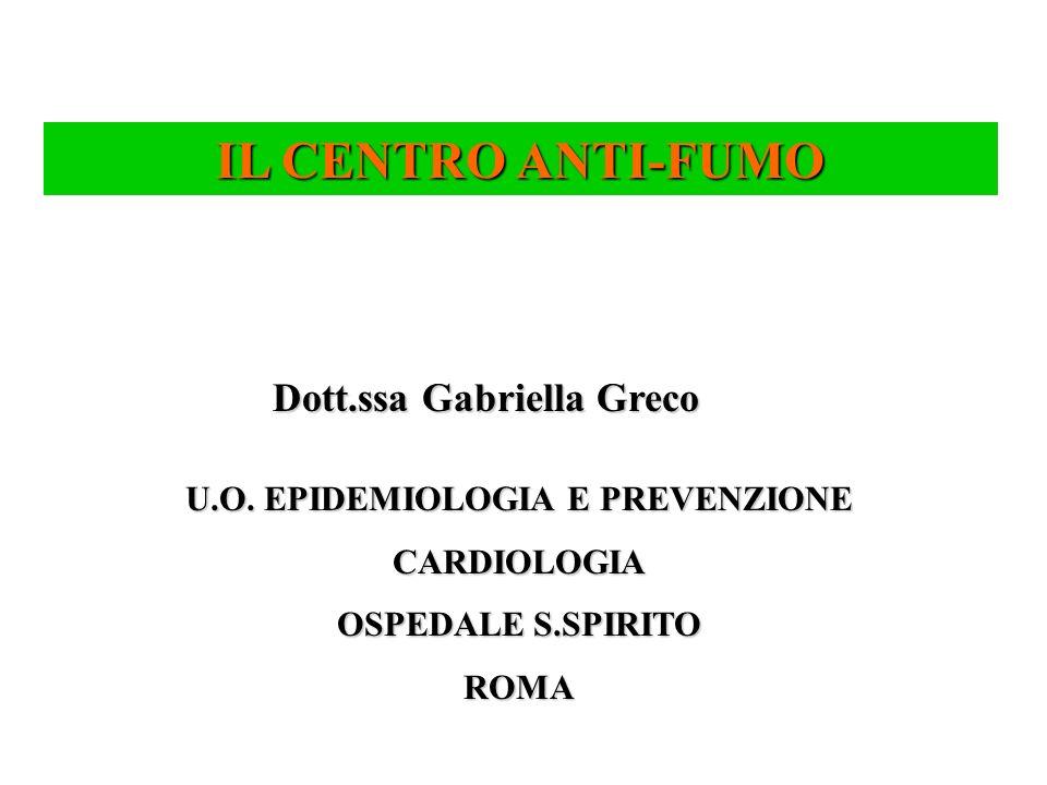 U.O. EPIDEMIOLOGIA E PREVENZIONE
