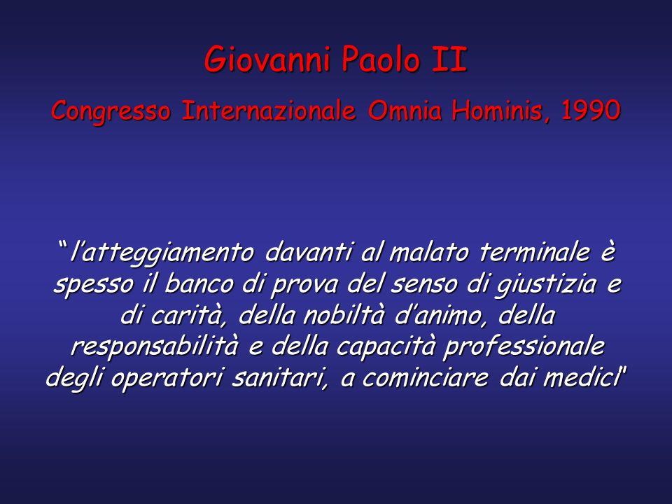 Congresso Internazionale Omnia Hominis, 1990
