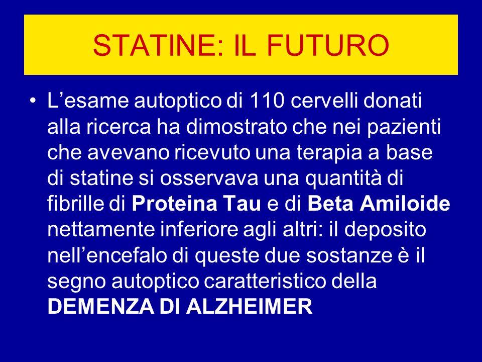 STATINE: IL FUTURO
