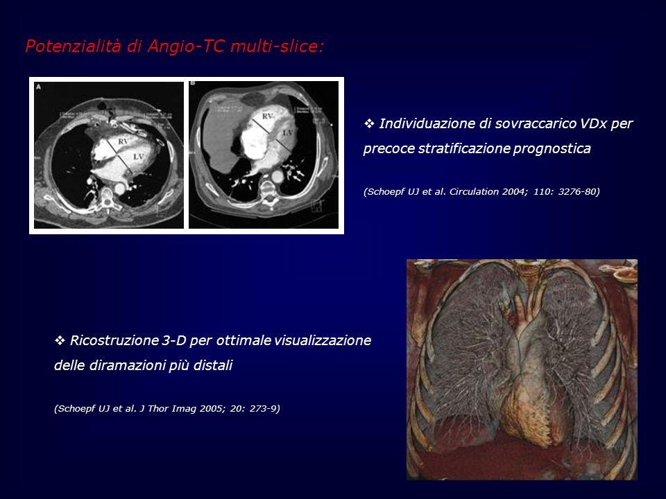 Potenzialità di Angio-TC multi-slice:
