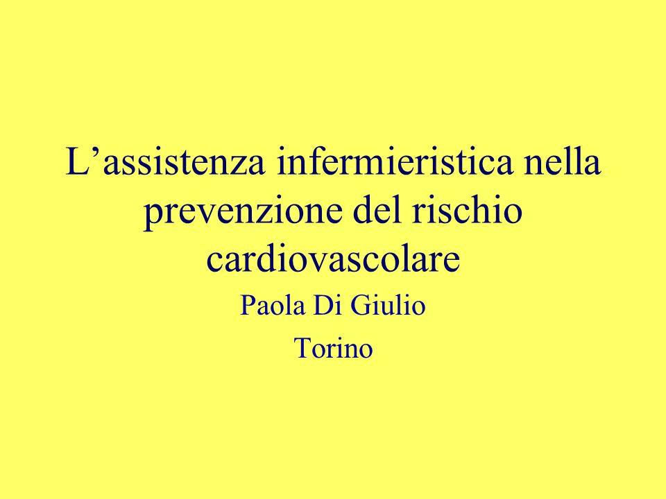 L'assistenza infermieristica nella prevenzione del rischio cardiovascolare