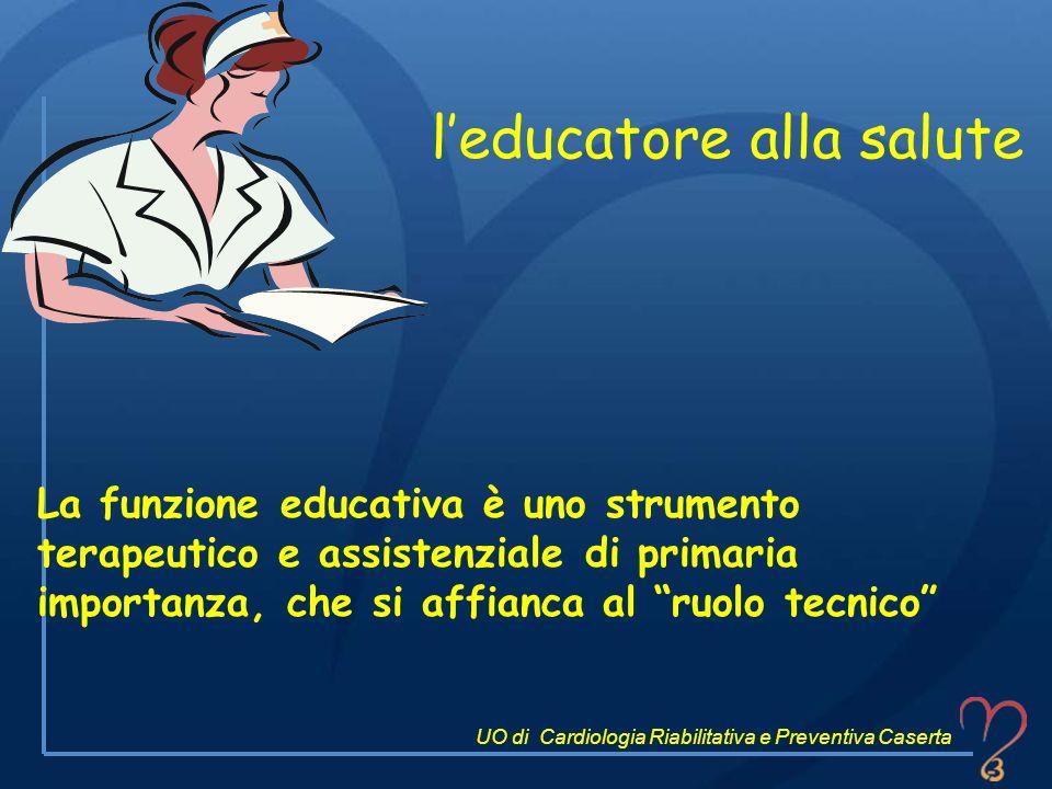 l'educatore alla salute