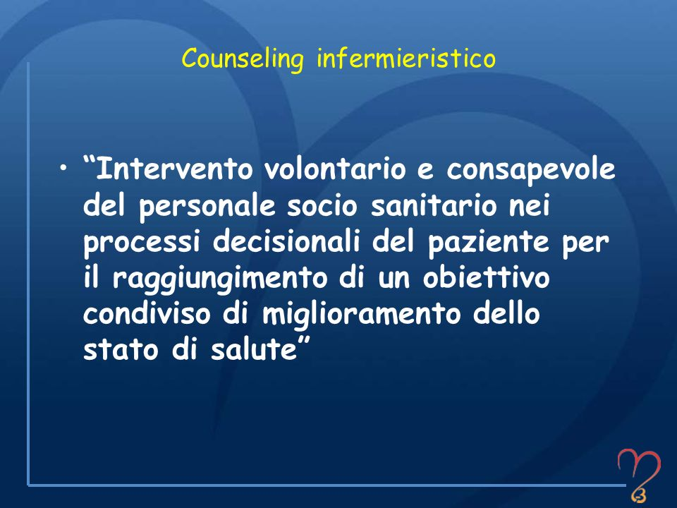 Counseling infermieristico