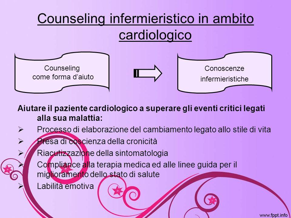 Counseling infermieristico in ambito cardiologico