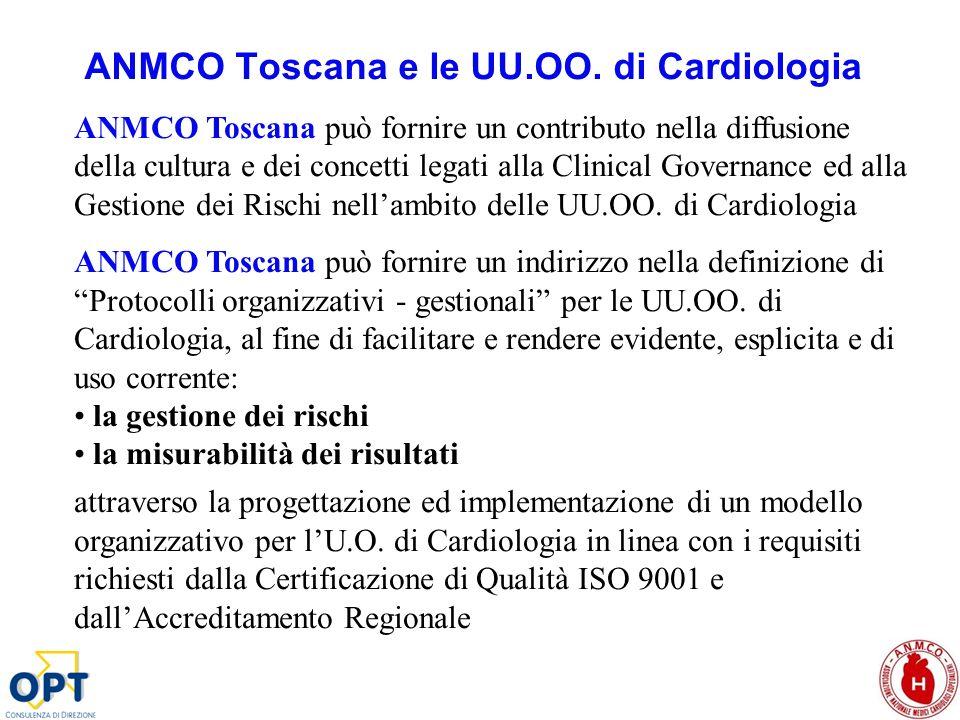 ANMCO Toscana e le UU.OO. di Cardiologia