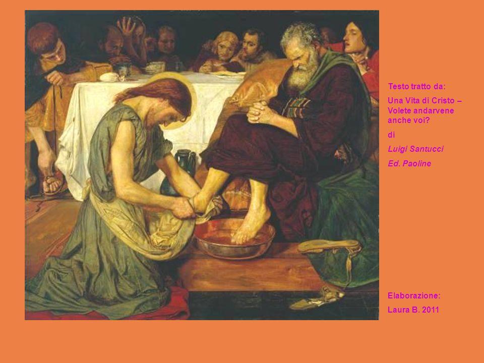 Testo tratto da: Una Vita di Cristo – Volete andarvene anche voi di. Luigi Santucci. Ed. Paoline.