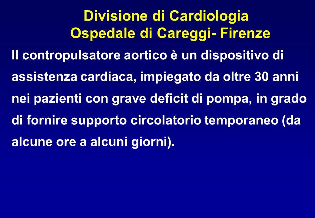 Divisione di Cardiologia Ospedale di Careggi- Firenze