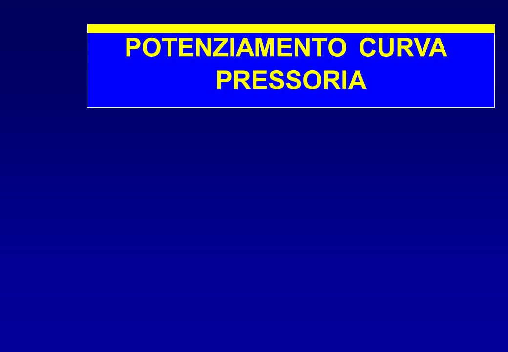 POTENZIAMENTO CURVA PRESSORIA