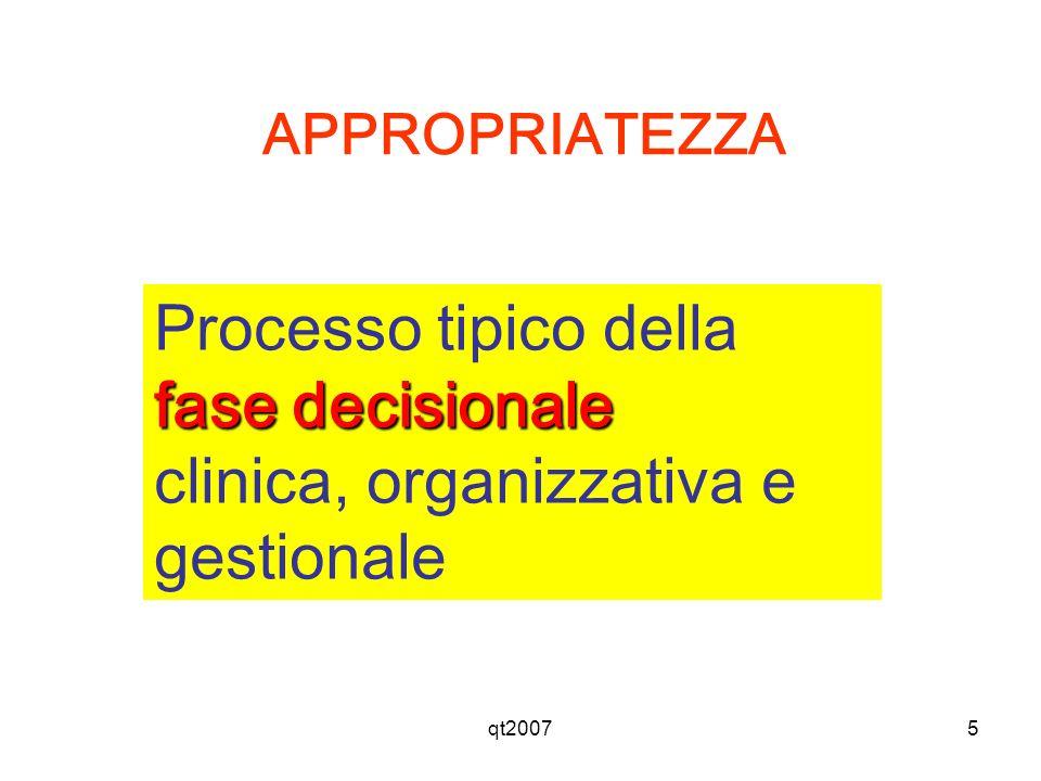 clinica, organizzativa e gestionale