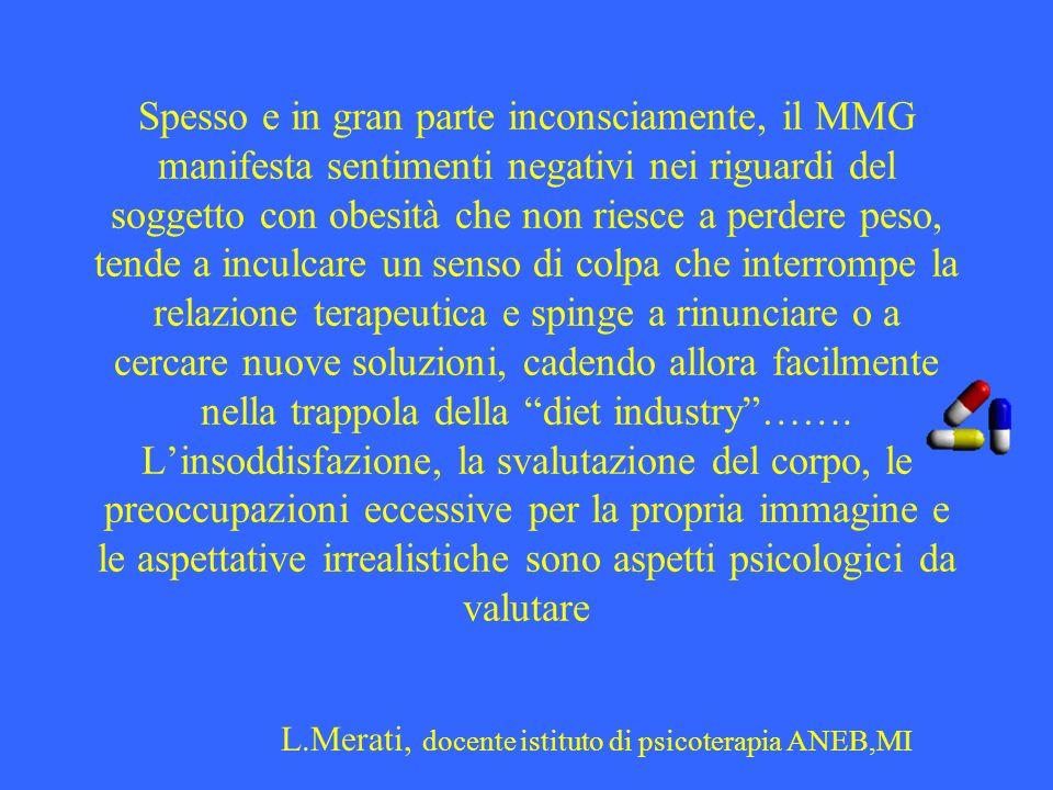 L.Merati, docente istituto di psicoterapia ANEB,MI