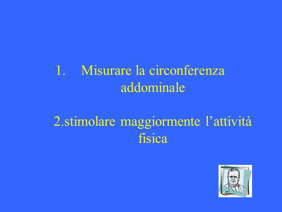 Misurare la circonferenza addominale 2