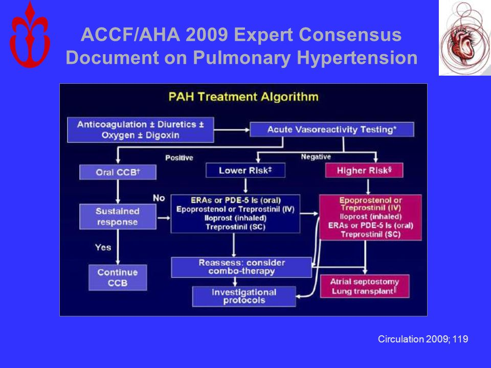 ACCF/AHA 2009 Expert Consensus Document on Pulmonary Hypertension