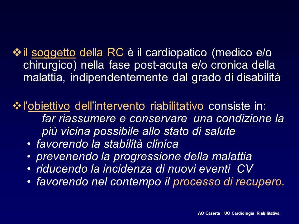 favorendo la stabilità clinica