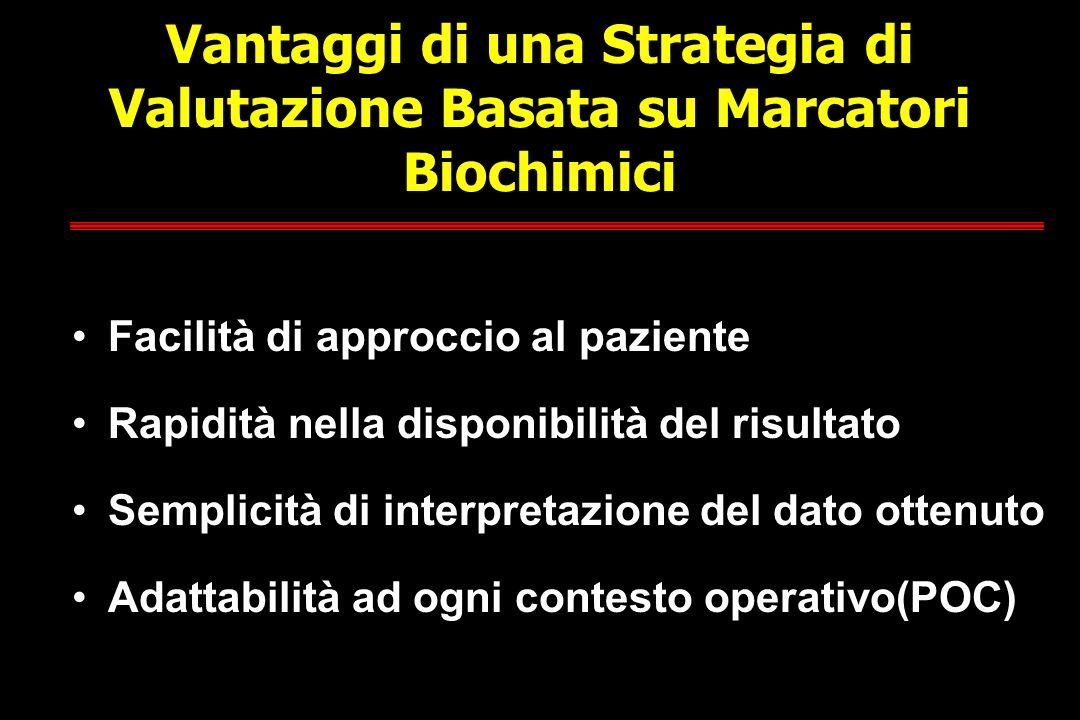 Vantaggi di una Strategia di Valutazione Basata su Marcatori Biochimici