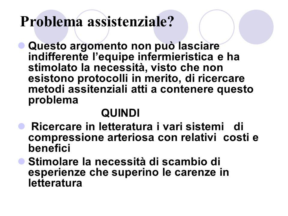 Problema assistenziale