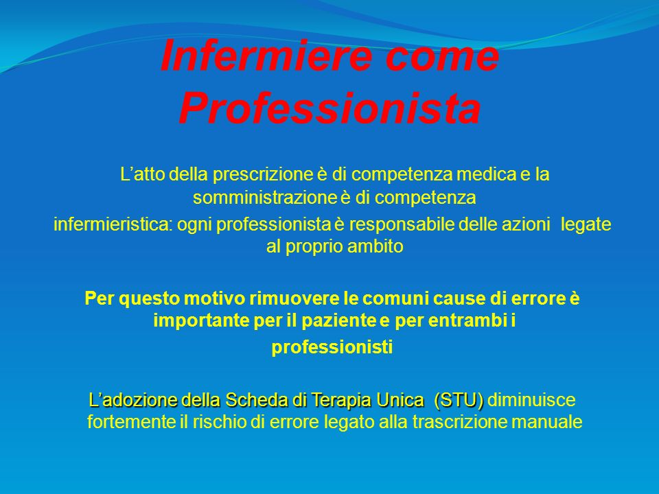 Infermiere come Professionista