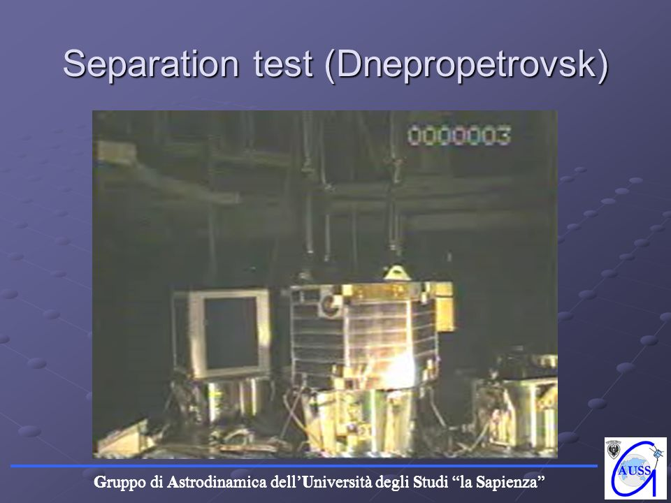 Separation test (Dnepropetrovsk)