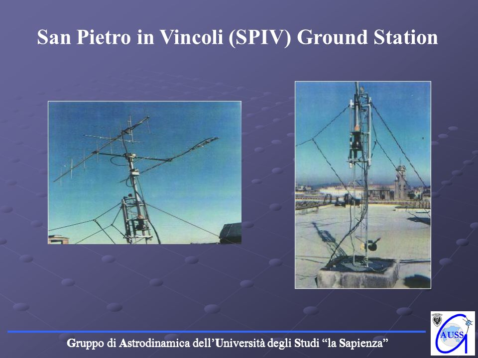 San Pietro in Vincoli (SPIV) Ground Station