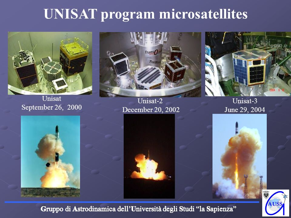 UNISAT program microsatellites