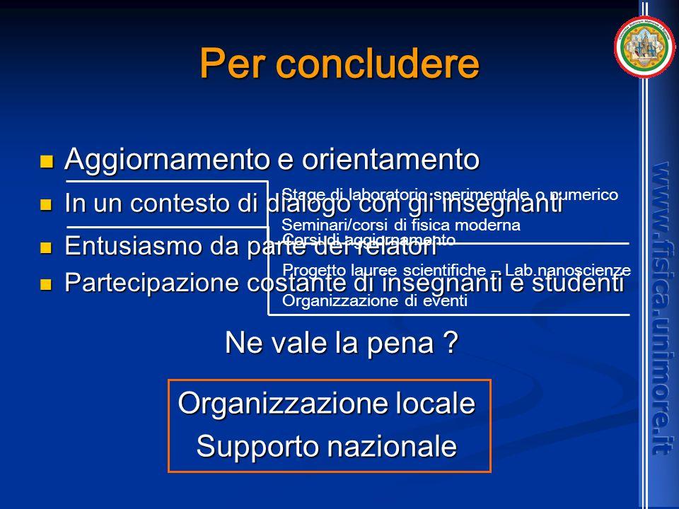 Organizzazione locale