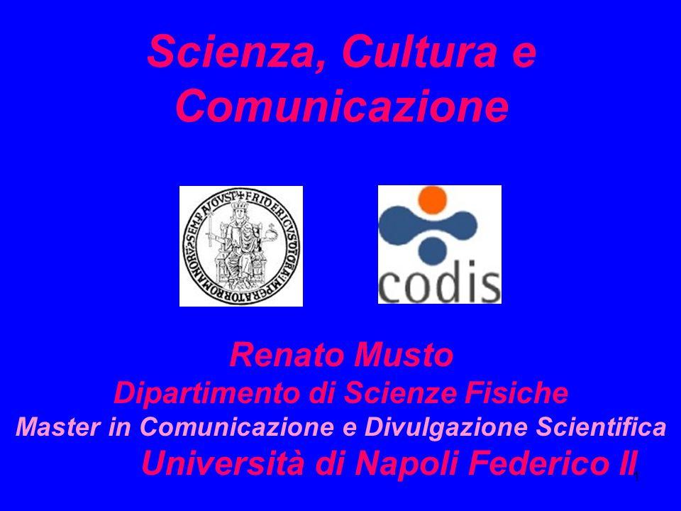 Scienza, Cultura e Comunicazione