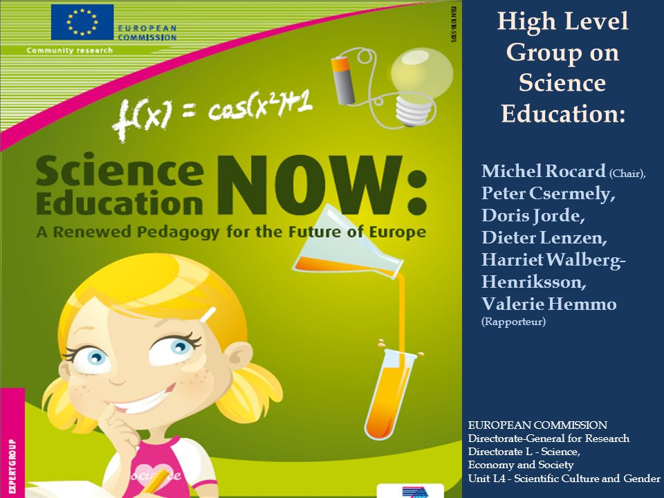 High Level Group on Science Education: