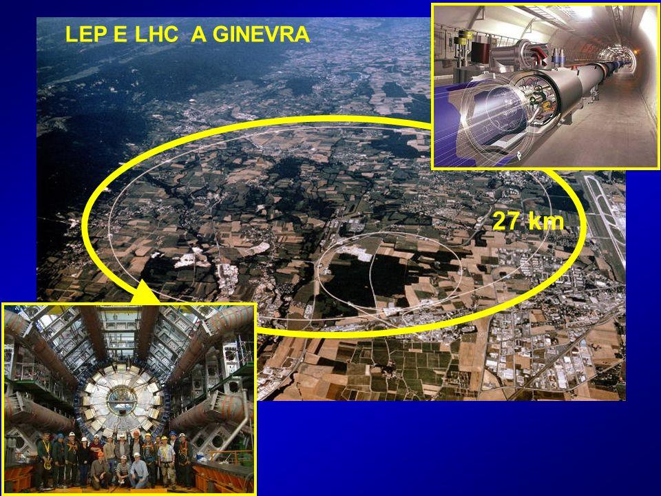 LEP E LHC A GINEVRA 27 km