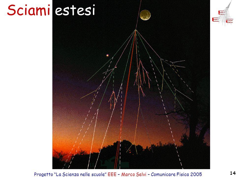 Sciami estesi Progetto La Scienza nelle scuole EEE – Marco Selvi – Comunicare Fisica 2005