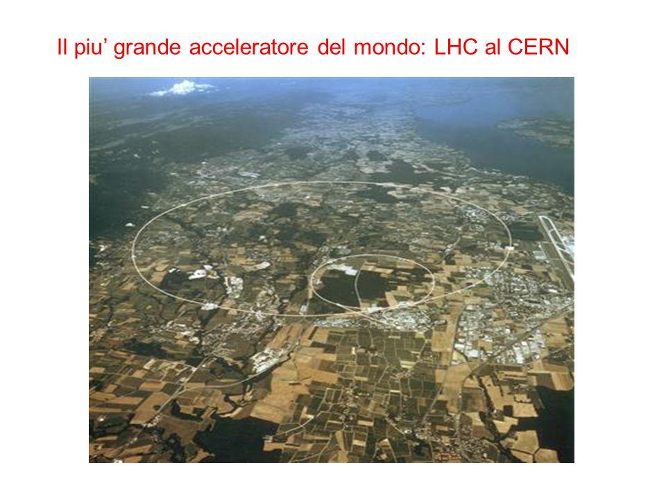 Il piu' grande acceleratore del mondo: LHC al CERN