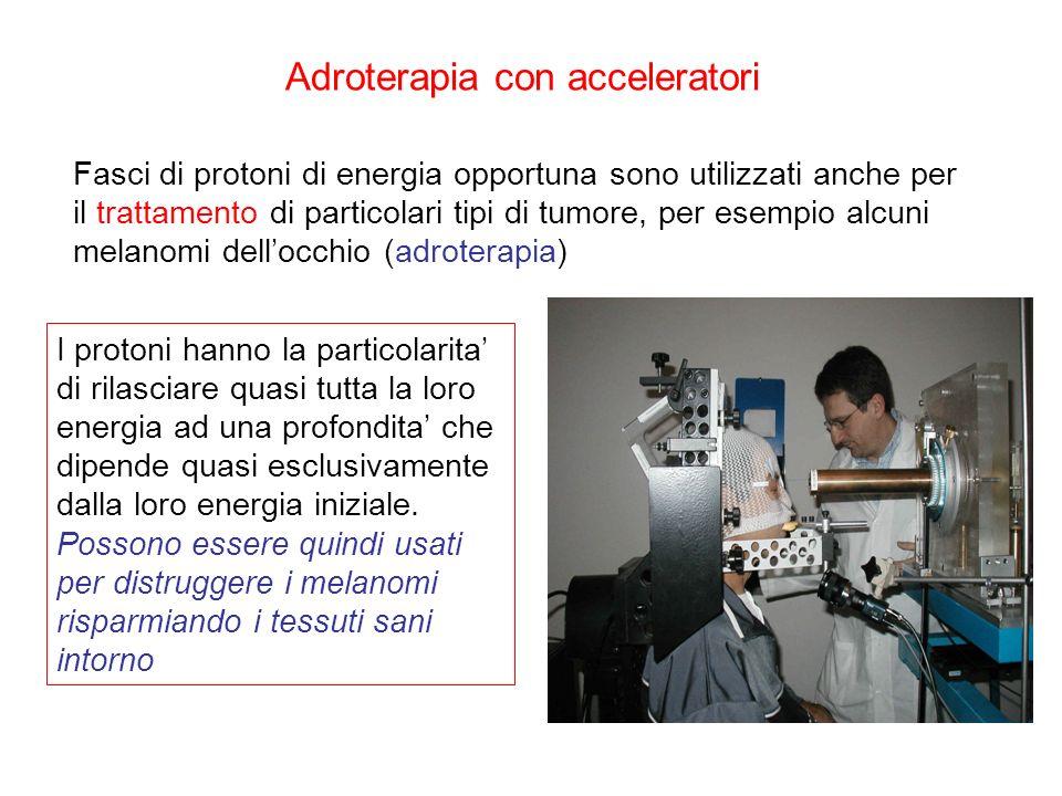 Adroterapia con acceleratori