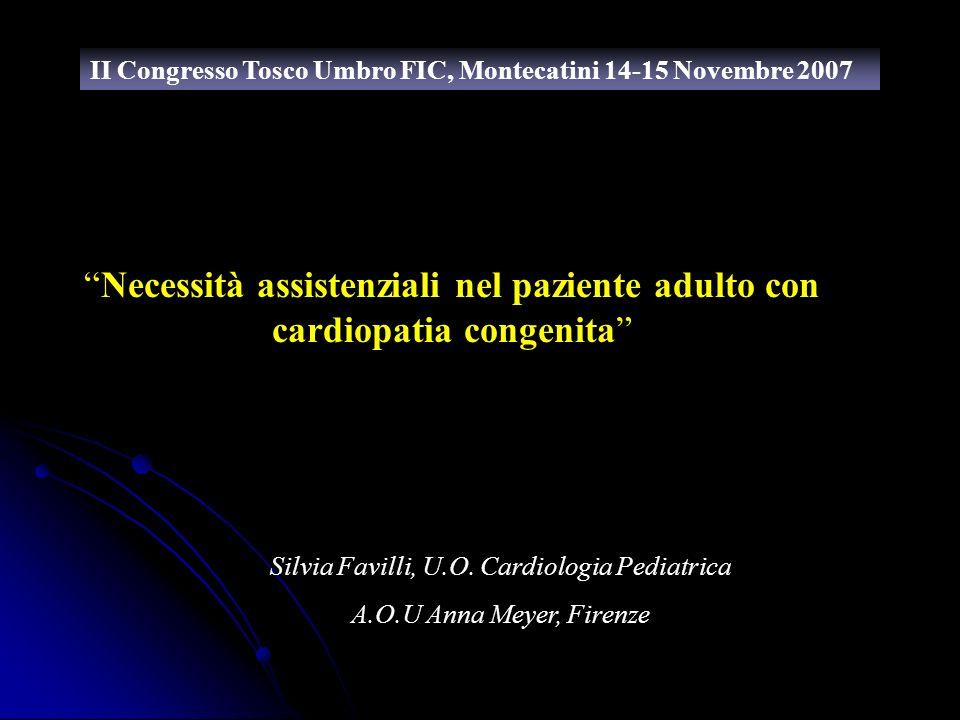 Silvia Favilli, U.O. Cardiologia Pediatrica