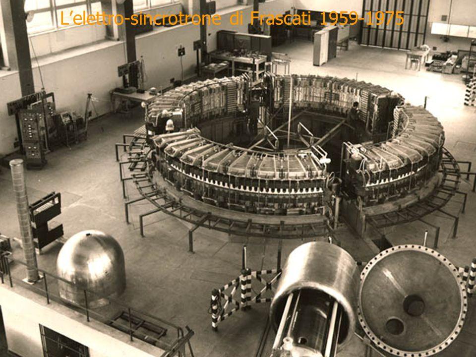 L'elettro-sincrotrone di Frascati 1959-1975