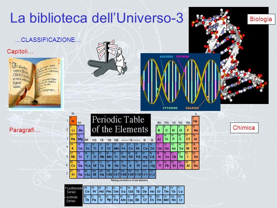 La biblioteca dell'Universo-3