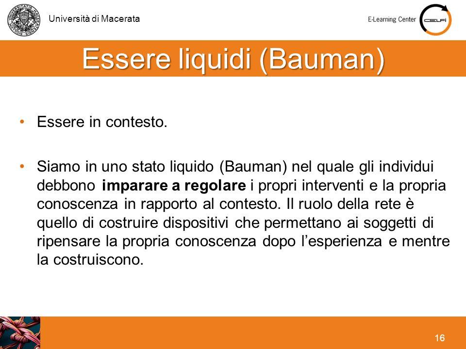 Essere liquidi (Bauman)
