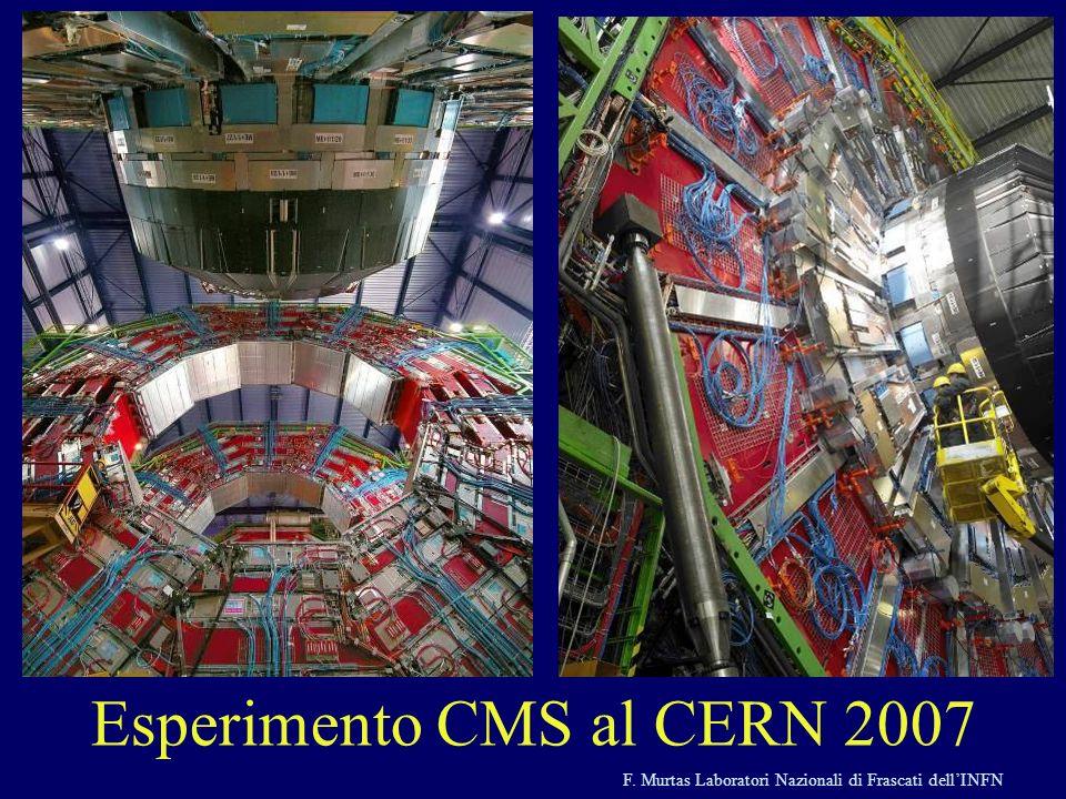 Esperimento CMS al CERN 2007